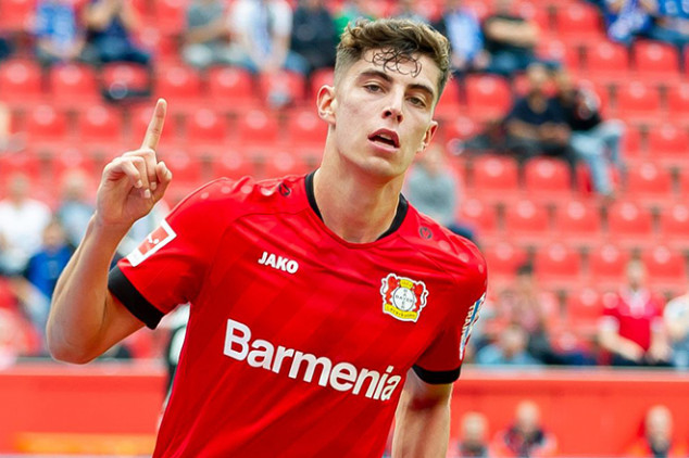 Liverpool eyeing record move for Havertz