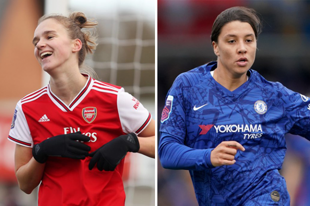 Kerr scores, Miedema trolled in Arsenal v Chelsea