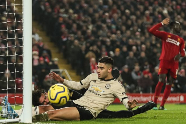 Man Utd star singled out for blame vs Liverpool