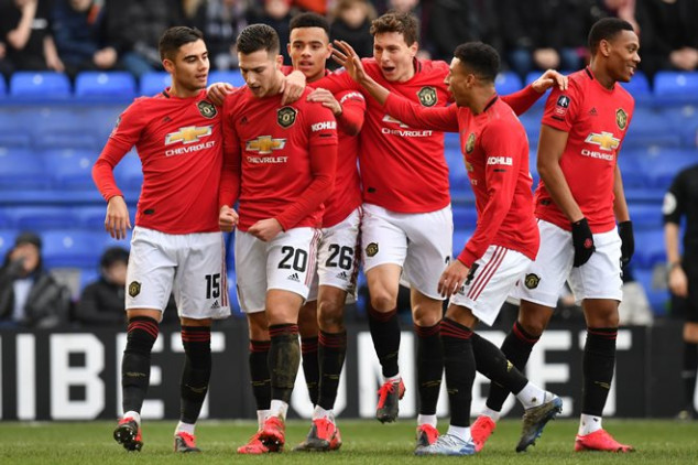 Man Utd makes history with six goals vs Tranmere