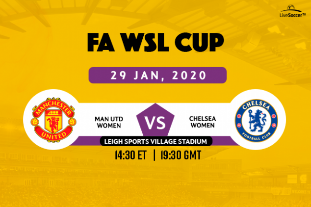 How to watch Manchester United vs Chelsea FAWLC