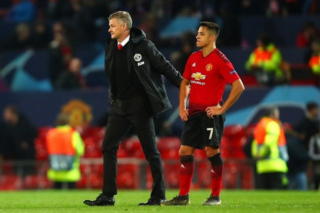 Solskjaer shares unexpected update on Alexis