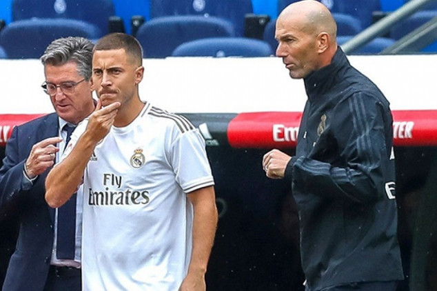Zidane gives update on Hazard ahead of Copa tie