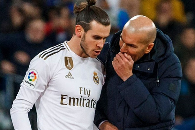 Zidane rubbishes Bale exit claims