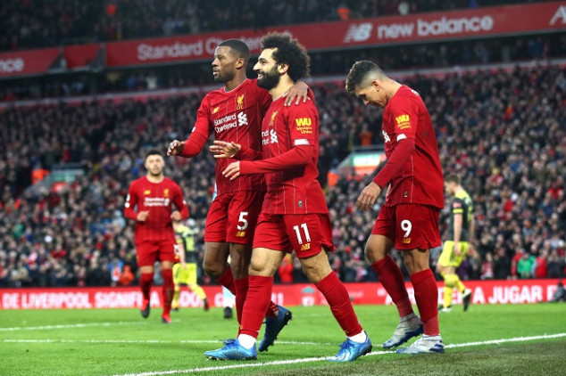 Liverpool matches 48-year-old record with 4-0 win