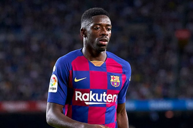 Dembelé ruled out for the rest of the season