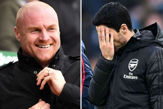 Burnley troll Arteta after goalless draw
