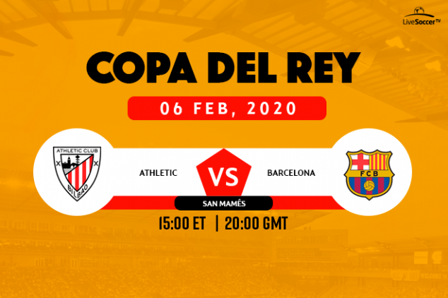 How to watch Athletic Club vs Barcelona