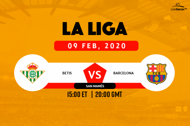 How to watch Real Betis vs Barca