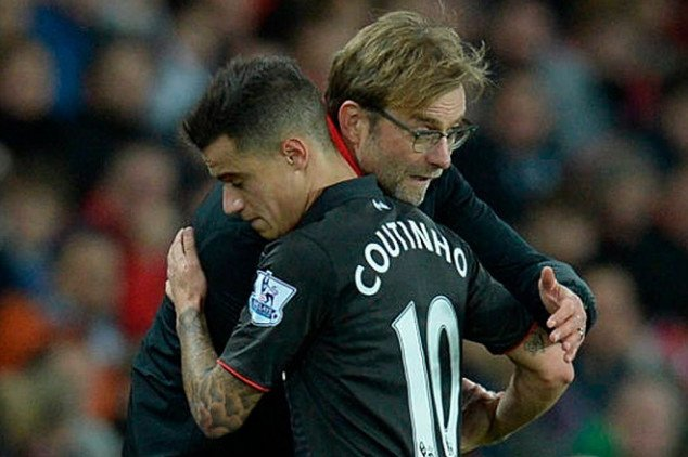 Coutinho hails Liverpool amid potential return
