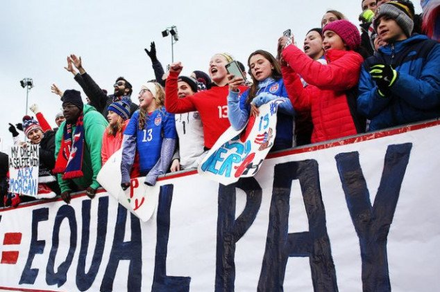 USWNT should earn triple what the USMNT earn
