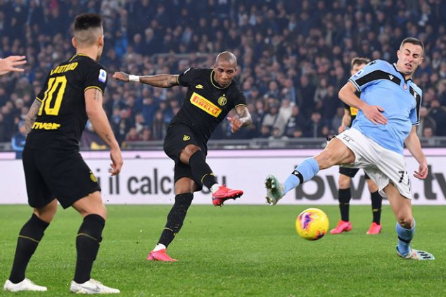 Twitter reacts as Young scores first Inter goal