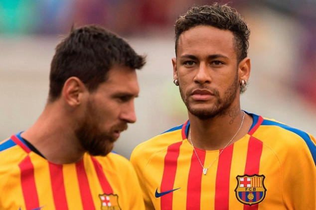 Neymar snubs CR7 from all-time greats list