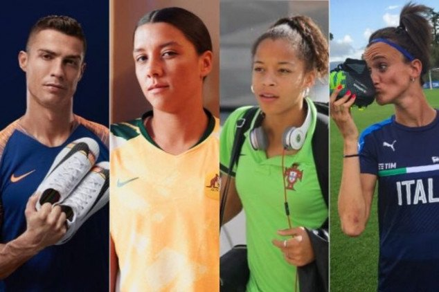 Ronaldo mentions Sam Kerr and Co in tweet