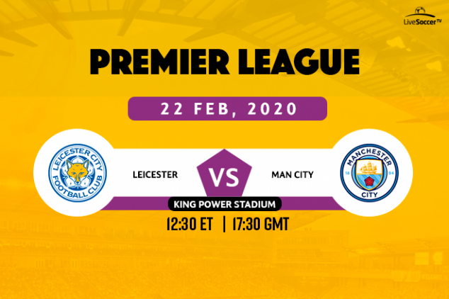 EPL - Leicester vs Man City broadcast info