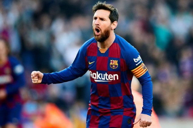 Messi makes history with 1st half hat-trick