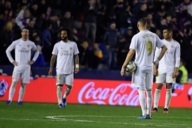 Benzema, Courtois and VAR blamed in Madrid defeat