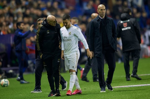 Hazard hands Real Madrid massive injury blow