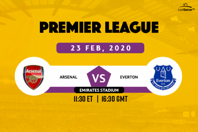 How to watch Arsenal vs Everton