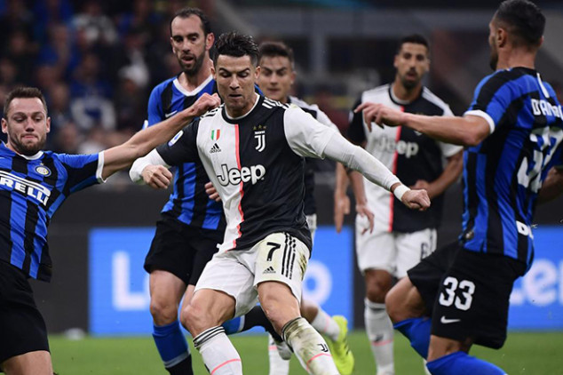 Juve-Inter to be played behind closed doors