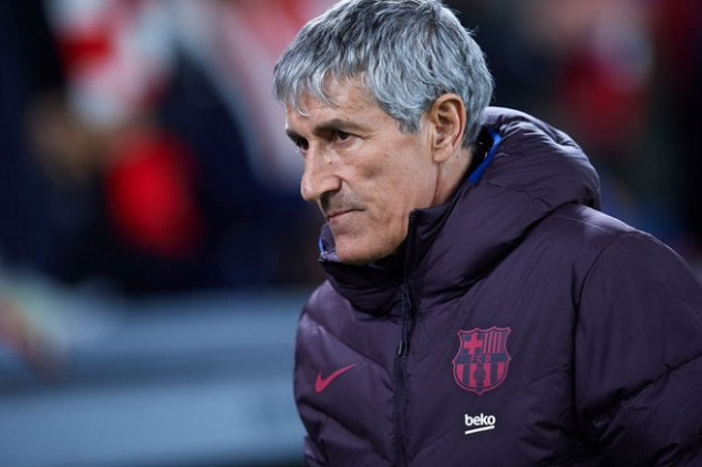 Barça boss matches woeful record in UCL match
