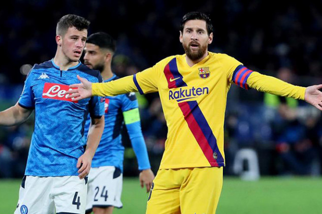Napoli manager trolls Barca over UCL performance