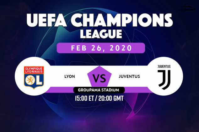 Lyon vs Juventus viewing info