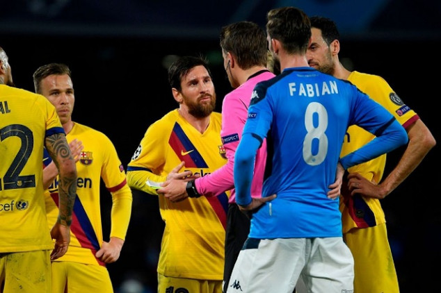 Barca ace aims fresh dig at Abidal after UCL draw