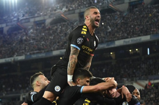 Pep and Man City make history in UCL win
