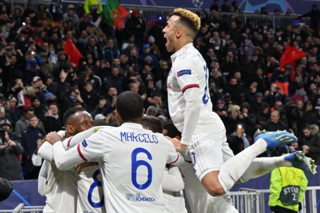 Lyon makes Champions League history with Juve win