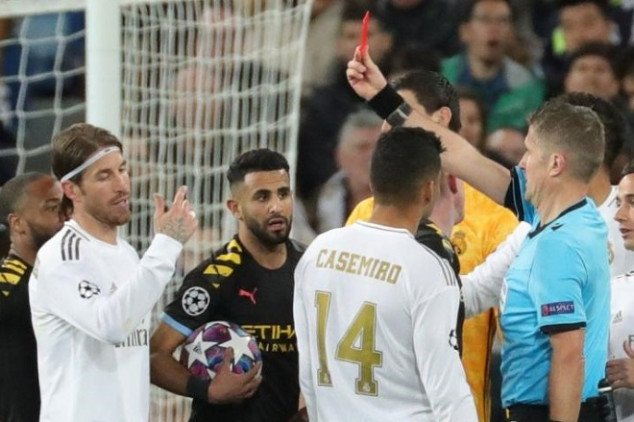 Real Madrid reaches decision on Ramos' red card