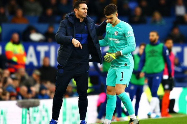 Lampard comes clean on rumored feud with Kepa