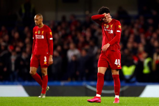 Liverpool attains unwanted feat in Chelsea defeat