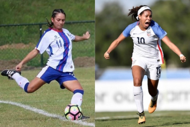 2020 Concacaf Women's Championship DR vs USA