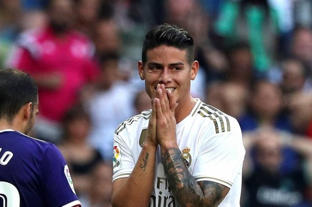 James will finally leave Real Madrid this summer