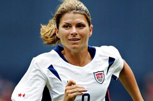 Short bio: Happy birthday Mia Hamm!
