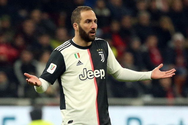 Higuain breaks self-isolation protocol