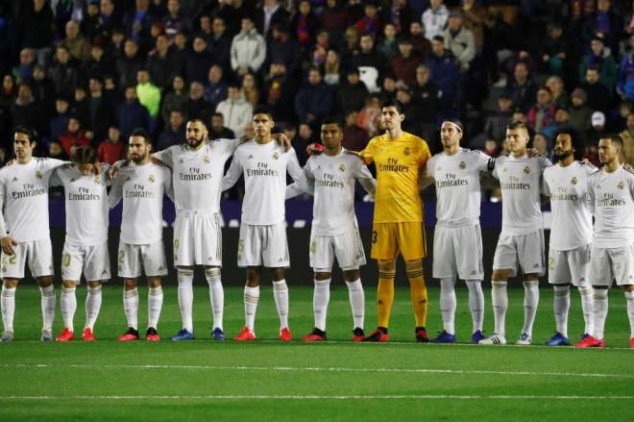 Real Madrid players' wages to be reduced