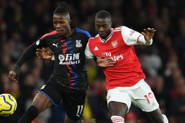 Emery explains why Pepe was signed ahead of Zaha