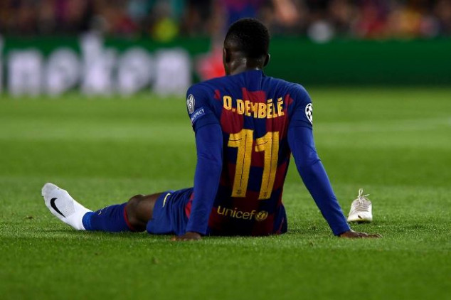 Report: Barcelona to sell Dembele for cut price