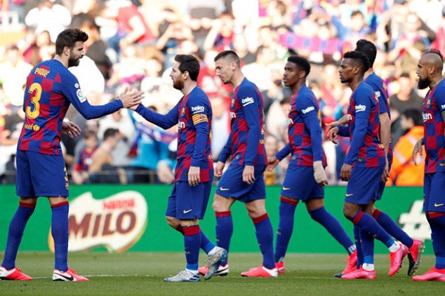 Five Barca players reportedly caught COVID-19