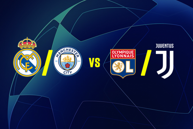 UCL draw: Real/ City to face Juve or Lyon