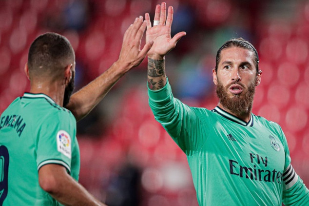 Ramos' goal-line save hands Madrid boost for title