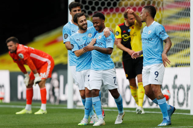 Watford's survival hopes in limbo after City loss