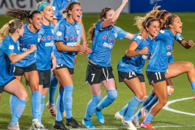 Red Stars join Dash in NWSL Challenge Cup Final