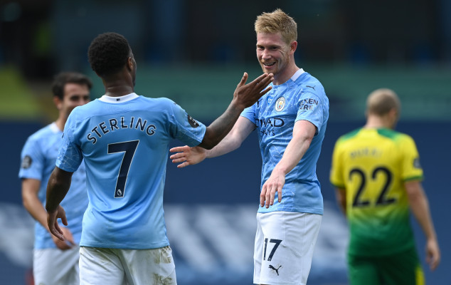 De Bruyne equals Thierry Henry's PL assist record