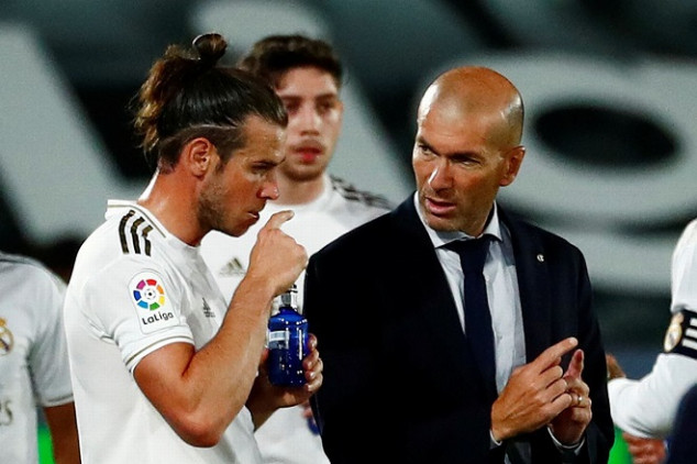 Zidane reveals why Bale is out of UCL tie