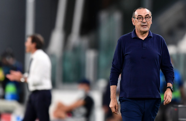 Fans call for Sarri's sack as Juve exit the UCL