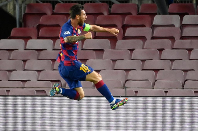 Watch: Messi scores stunning solo-goal vs Napoli