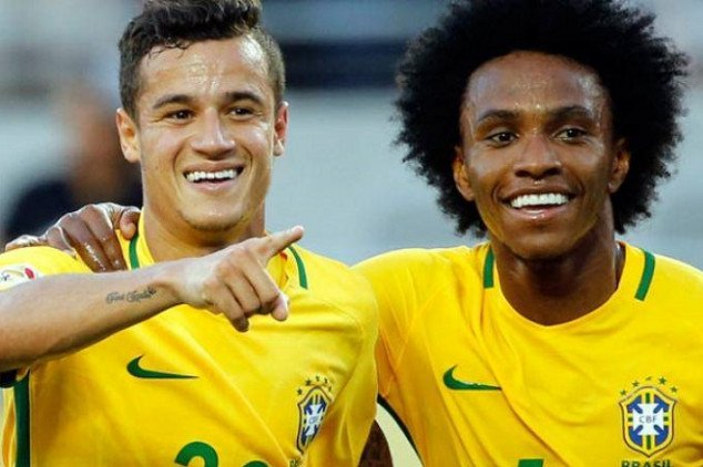Arsenal set to choose between Willian and Coutinho